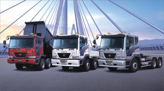 2004 - Tata Motors acquires Daewoo Commercial Vehicle Company, South Korea. The first range of Tata Novus vehicles from Tata Daewoo is launched soon after.