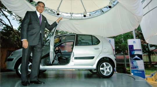 2004 - Tata Motors starts its globalisation drive and launches the Tata Indica in South Africa.
