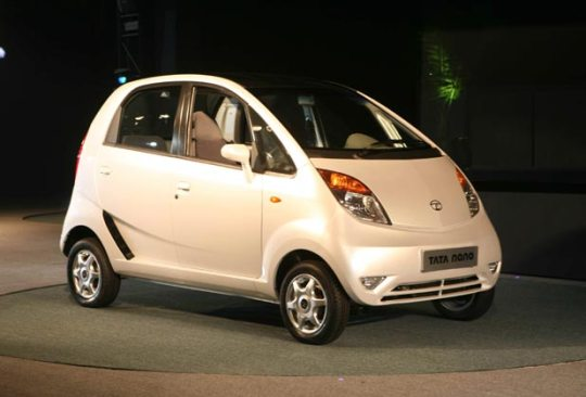 2008 - Tata Motors launched the most-awaited car of the year, its one-lakh car called Nano, at the 9th Auto Expo